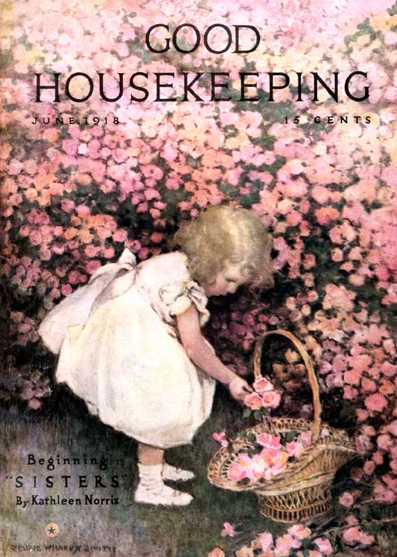Magazine Cover Art from Good Housekeeping | Vintage Magazines