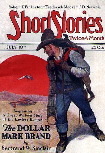 Short Stories Magazine - August 25th, 1928 - Pulp Magazine