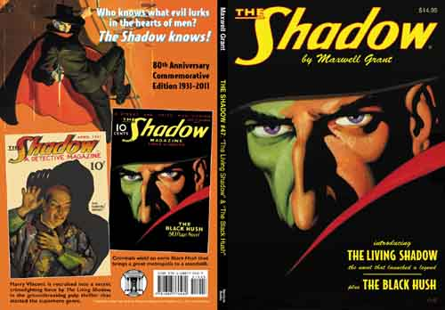 The Living Shadow Was Revised And Updated For 1934 Ideal Library Hardcover Which Became Source Material Subsequent Annual Paperback