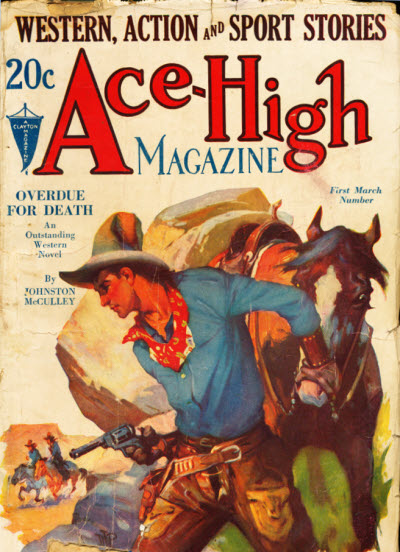 Ace-High Magazine, March 1932
