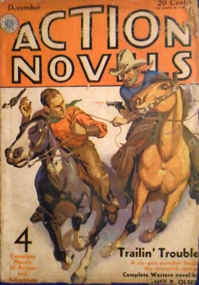 Action Novels, December 1930