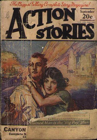 Action Stories, September 1924