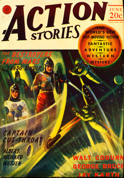 Action Stories, June 1940