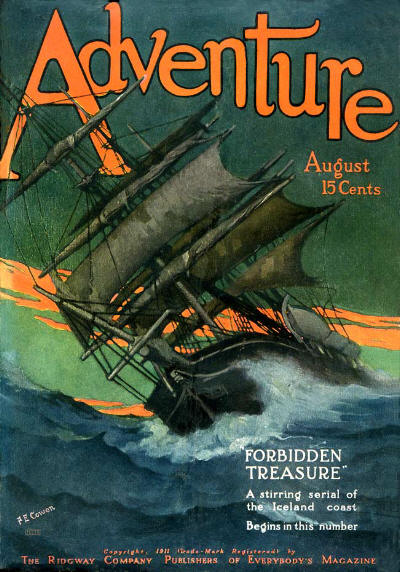Adventure, August 1911
