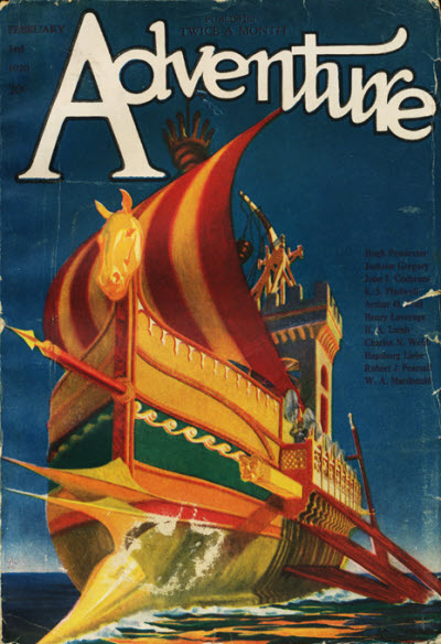 Image - Adventure, First February Issue, 1920