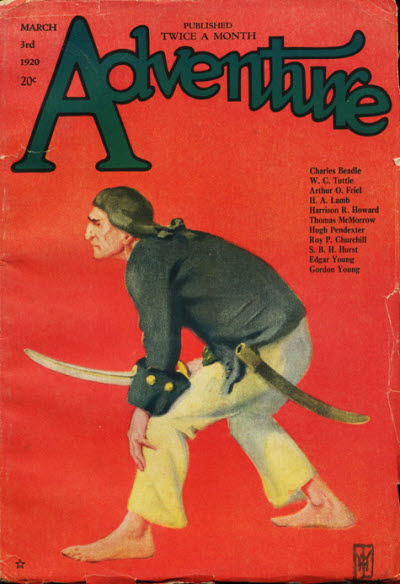Image - Adventure, First March Issue, 1920