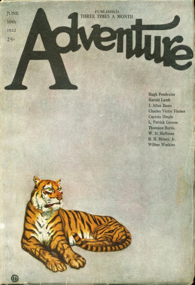Adventure, June 10th, 1922