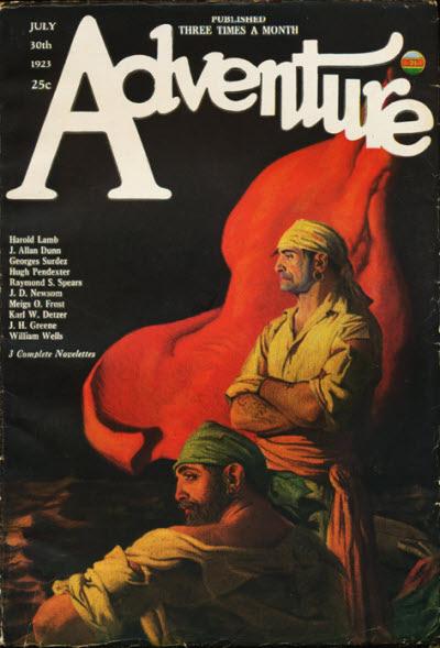 Image - Adventure, July 30, 1923