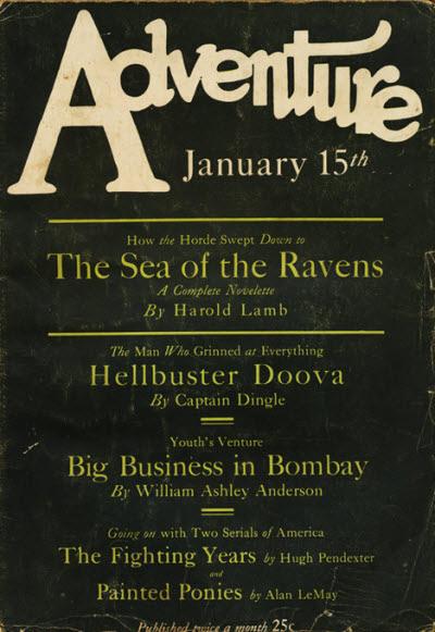 Image - Adventure, January 15, 1927