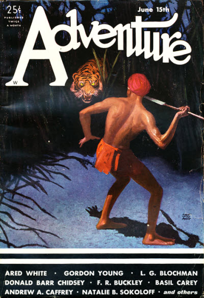 Adventure, June 15th, 1932