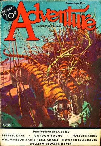 Adventure, December 15, 1932