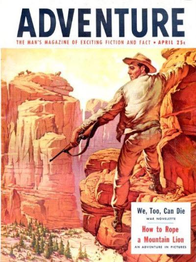 Adventure, April 1954