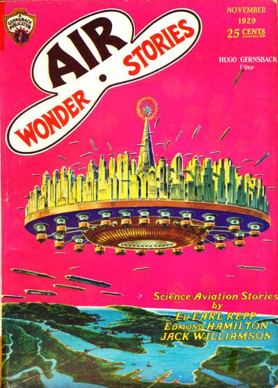 Air Wonder Stories, November 1929