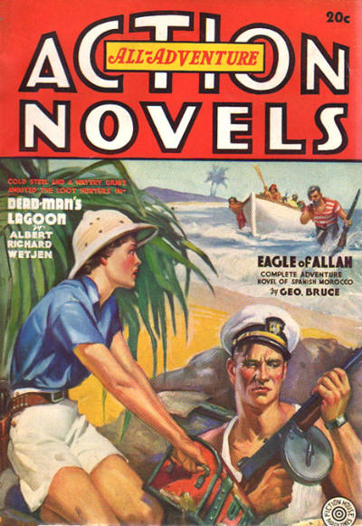 How to write an action adventure novelists