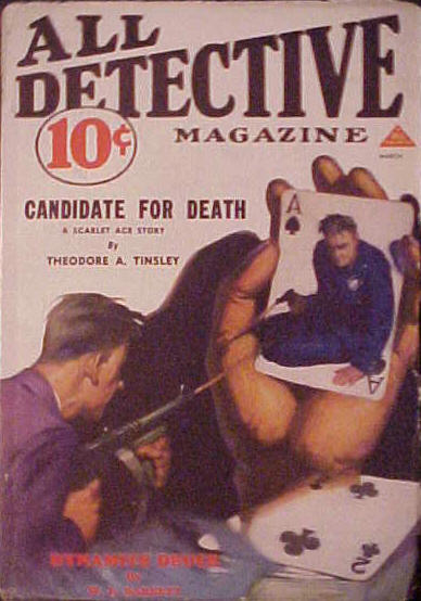 All Detective, March 1933