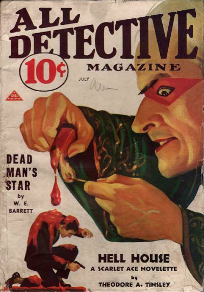 All Detective, July 1933