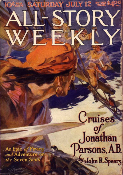 All-Story Weekly, July 12, 1919