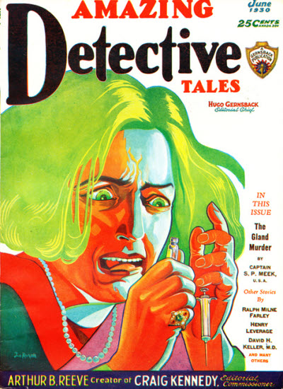 Amazing Detective Tales, June 1930