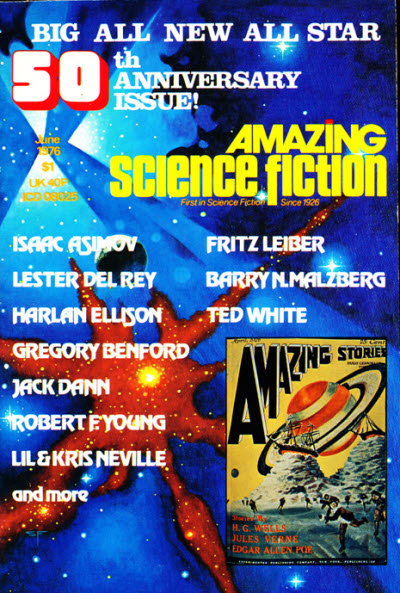 AMAZING SCIENCE FICTION AND STORIES PULPS GALAXY AMAZING STORIES 32 PULPS LOOK