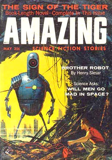 Amazing Science Fiction Stories, May 1958