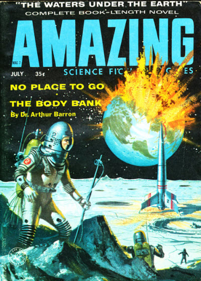 Publication Amazing Science Fiction Stories July 1958