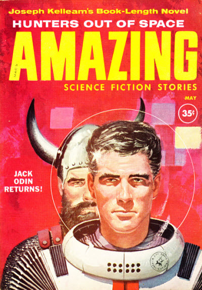 Amazing Science Fiction Stories, May 1960