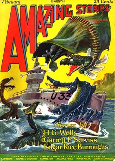 Amazing Stories Volume 21 Number 06: Publication: Amazing Stories, February 1927