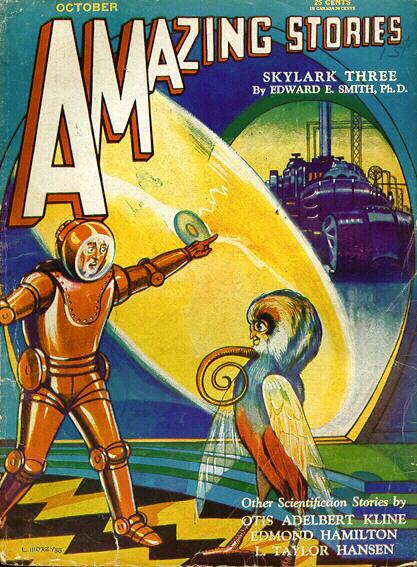 Amazing Stories, October 1930