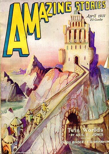 Amazing Stories, April 1937