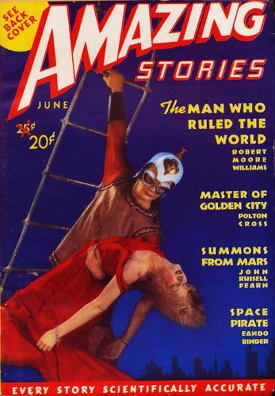 Amazing Stories, June 1938
