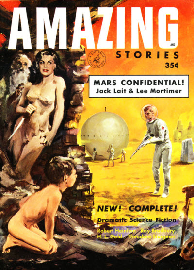 Amazing Stories Volume 21 Number 06: Science Fiction & Fantasy Books On Mars