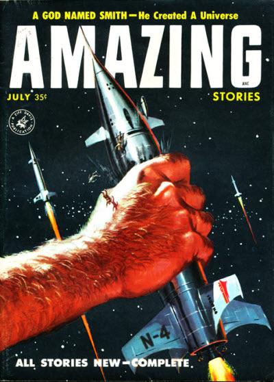 Amazing Stories, July 1957