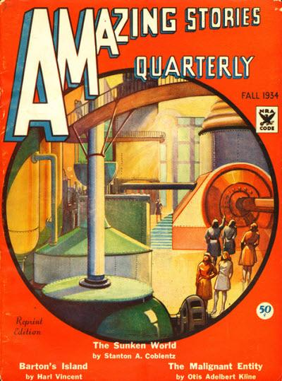 Publication: Amazing Stories, June 1926