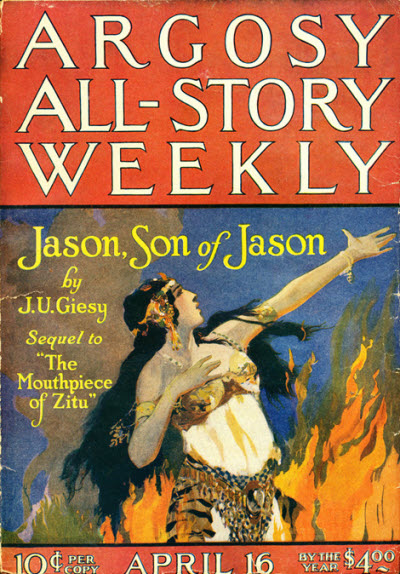 Image - Argosy All-Story Weekly, April 16, 1921