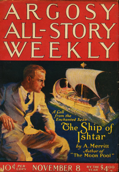 Argosy All-Story Weekly, November 8, 1924