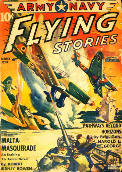 Army-Navy Flying Stories, Winter 1943