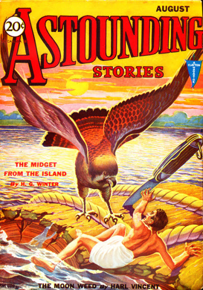 Astounding Stories, August 1931