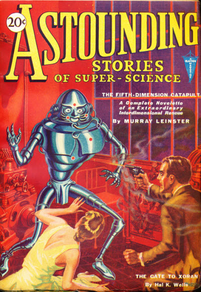 Astounding Stories of Super Science, January 1931