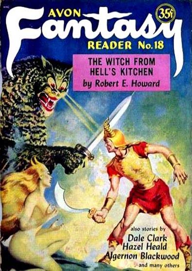 Avon Fantasy Reader No. 18, 1952