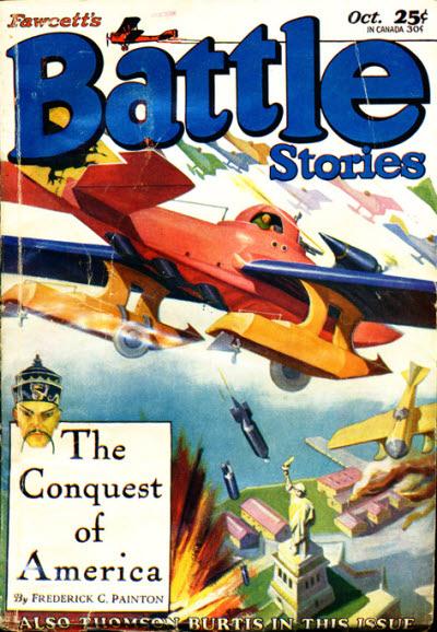 Battle Stories, October 1929