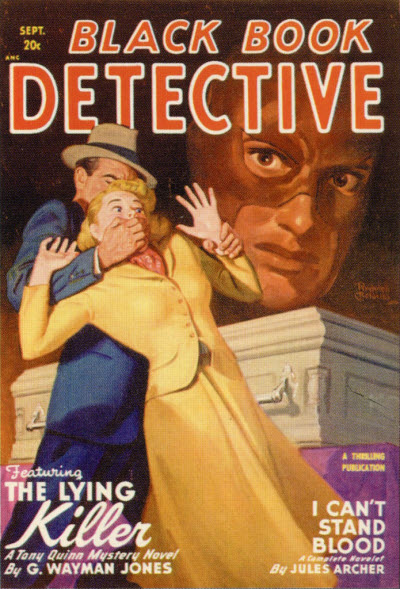 Black Book Detective, September 1948