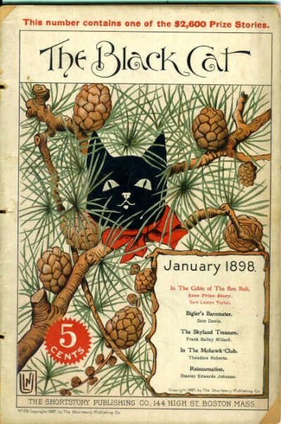 The Black Cat, January 1898