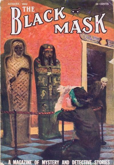 Black Mask, August 1922
