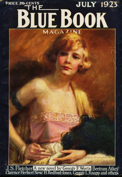 Blue Book Magazine, July 1923
