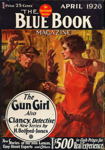 Blue Book Magazine, April 1926