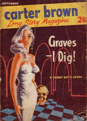 Carter Brown Long Story Magazine No.3 So Deadly, Sinner (Anon - 1959) (ID:87376)
