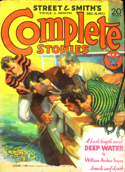 Street and Smith's Complete Stories, December 15, 1933