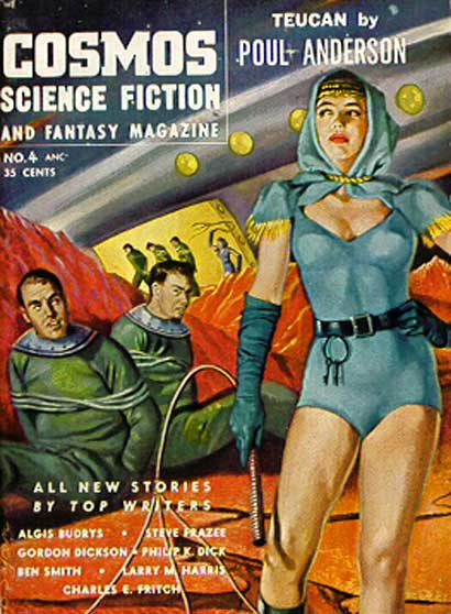 Cosmos Science Fiction and Fantasy, July 1954