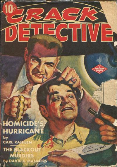 Crack Detective, July 1943