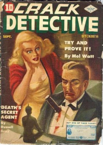 Crack Detective, September 1943